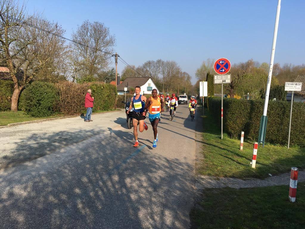 Marathon im Apfelgarten